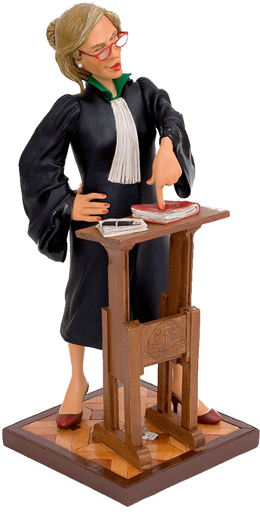 Woman Lawyer Figure