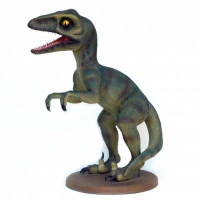 פסל של דינוזאור טירקס