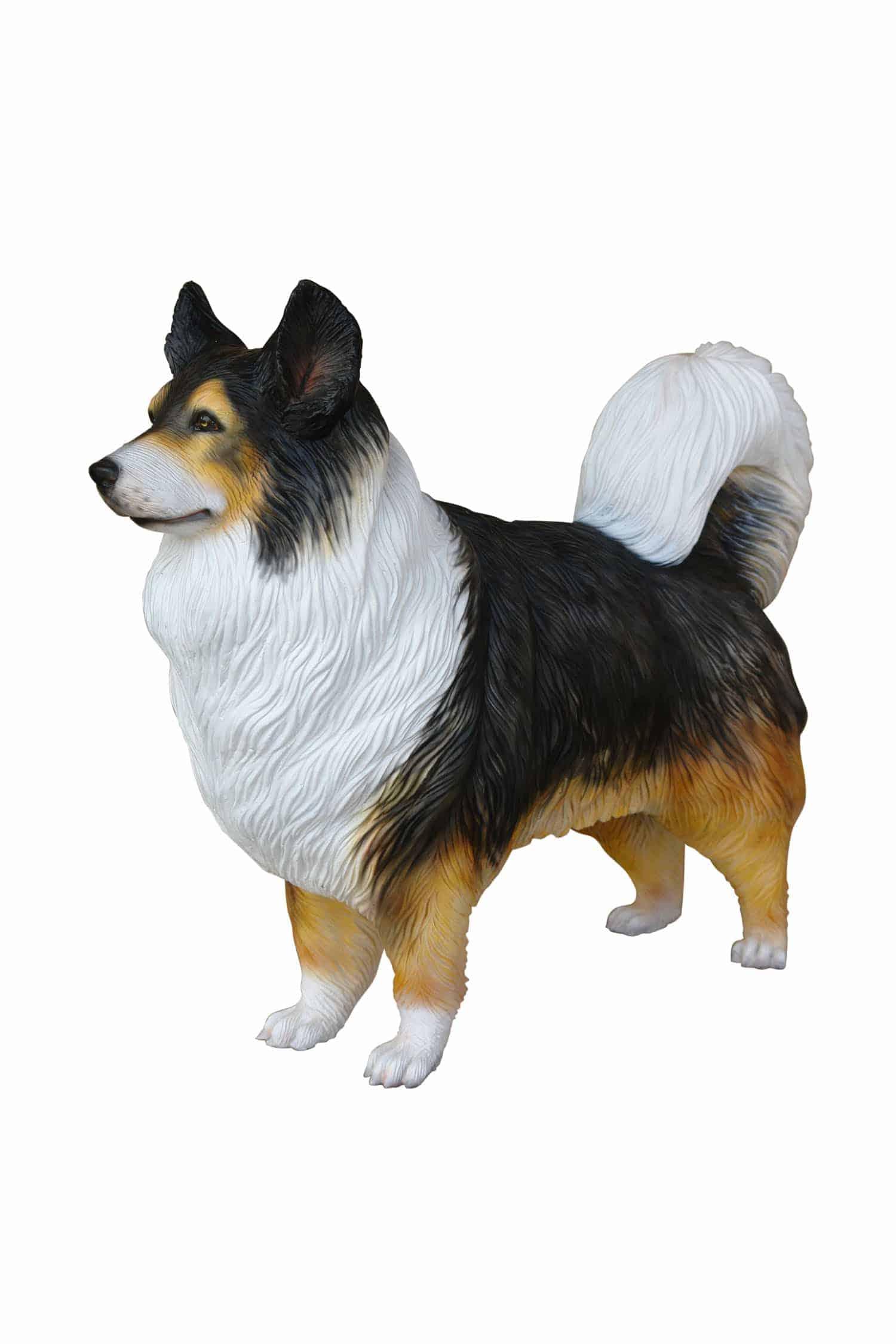 פסל כלב זאב אוסטרלי
