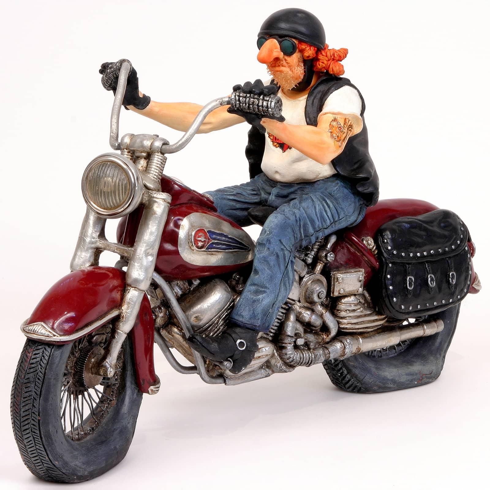 פסל אופנוע הארלי דיוידסון