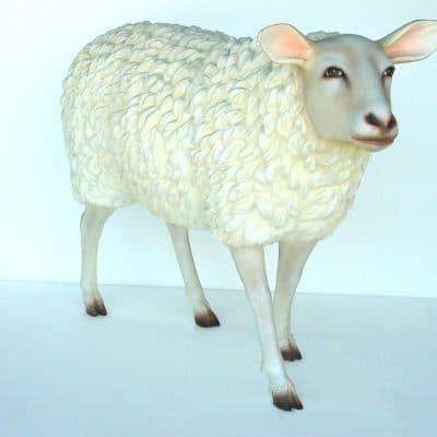 פסל של כבשה