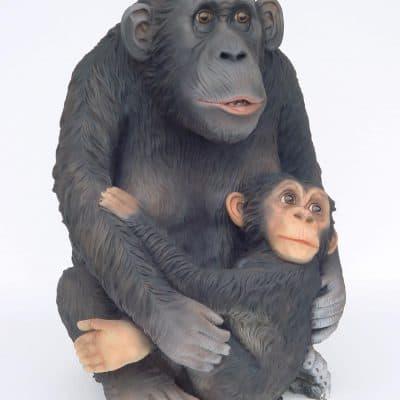 הקוף והבייבי