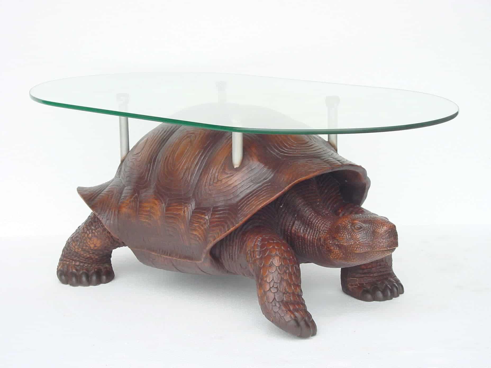 שולחן בצורת צב