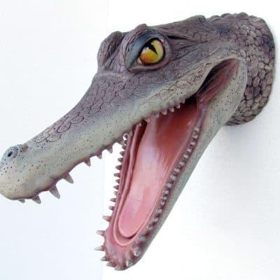 פסל ראש תנין