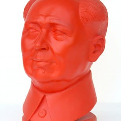 פסל ראש מאו דזה דונג