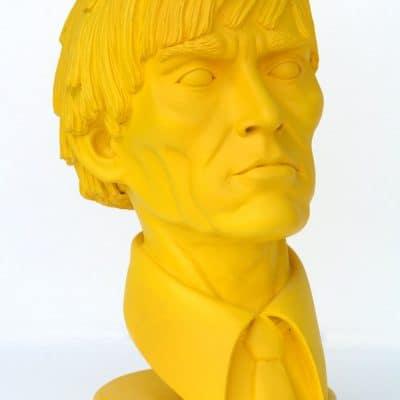 פסל ראש אנדי וורהול