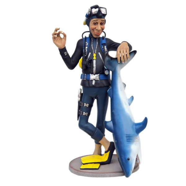 צוללן כריש