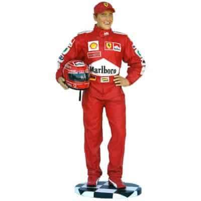פסל נהג מירוצים F1