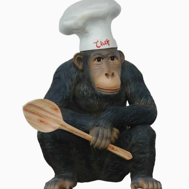 קוף שף קטן