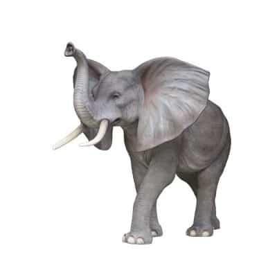 פסל פיל ענק אוזניים