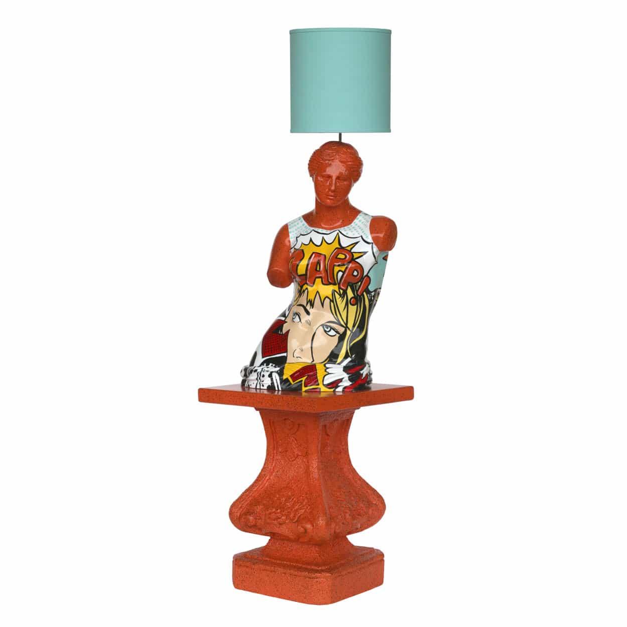 מנורה טורוסו על בסיס
