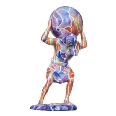 פסל יווני פופ ארט