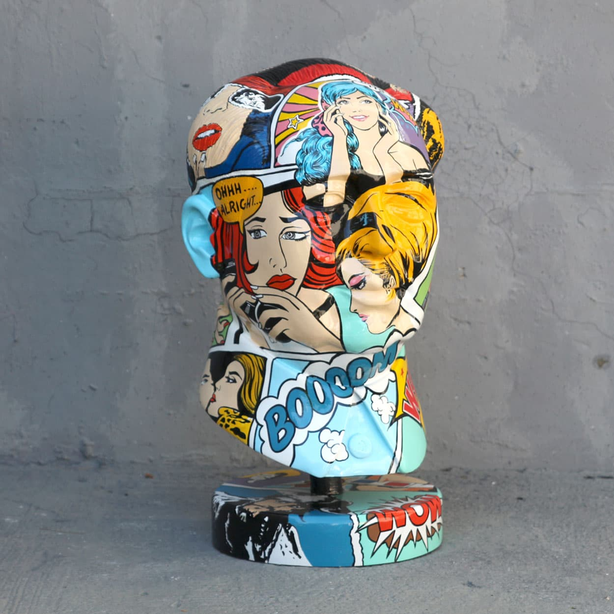 פסל מאו טסה טונג בפופ ארט