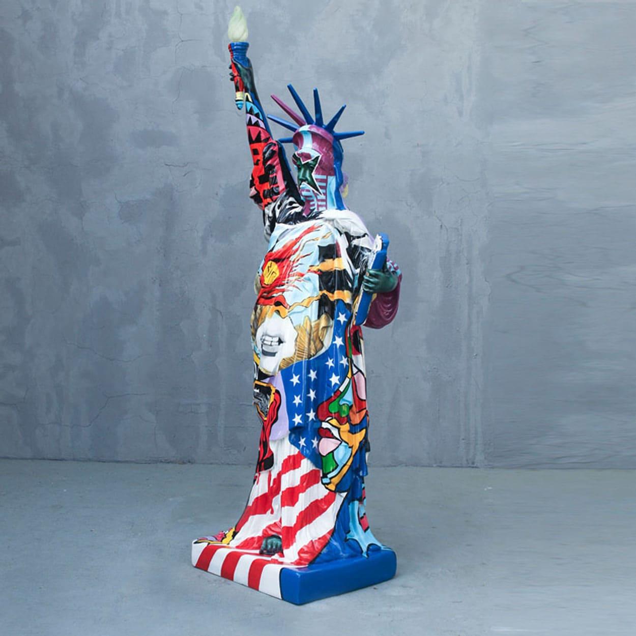 פסל החירות בפופ ארט