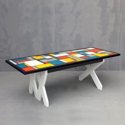 שולחן מונדריאן