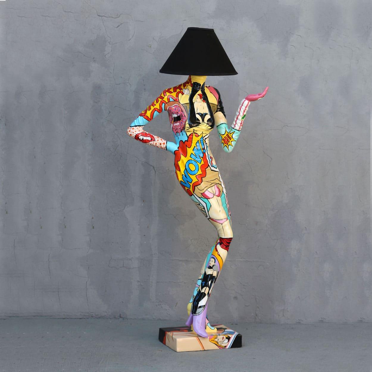 מנורת פופ ארט