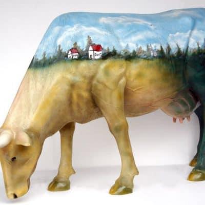פרה בכפר