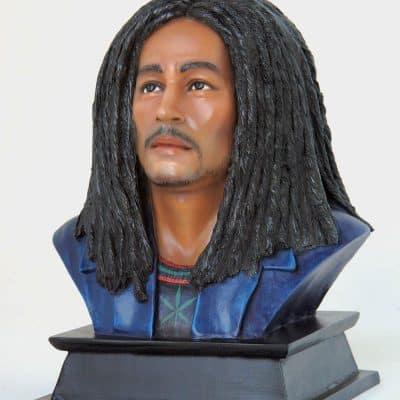 פסל ראש בוב מארלי