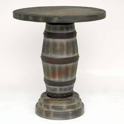 שולחן חבית