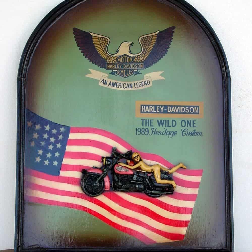 """הארלי דגל ארה""""ב"""
