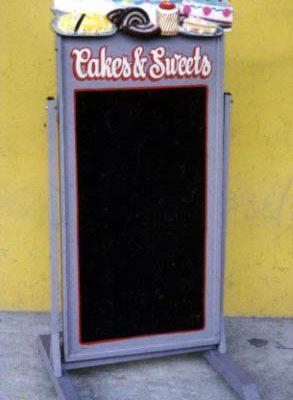 לוח גיר עוגות