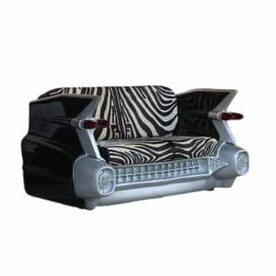 ספה בצורת רכב זברה
