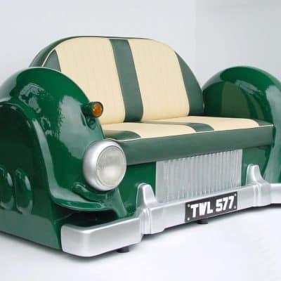 ספה בצורת רכב חיפושית ירוק