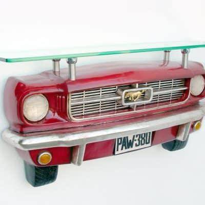 מדף בצורת רכב מוסטנג