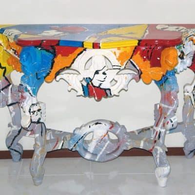 שולחן קיר פופ