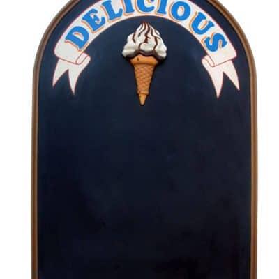 לוח גיר גלידה דלישס
