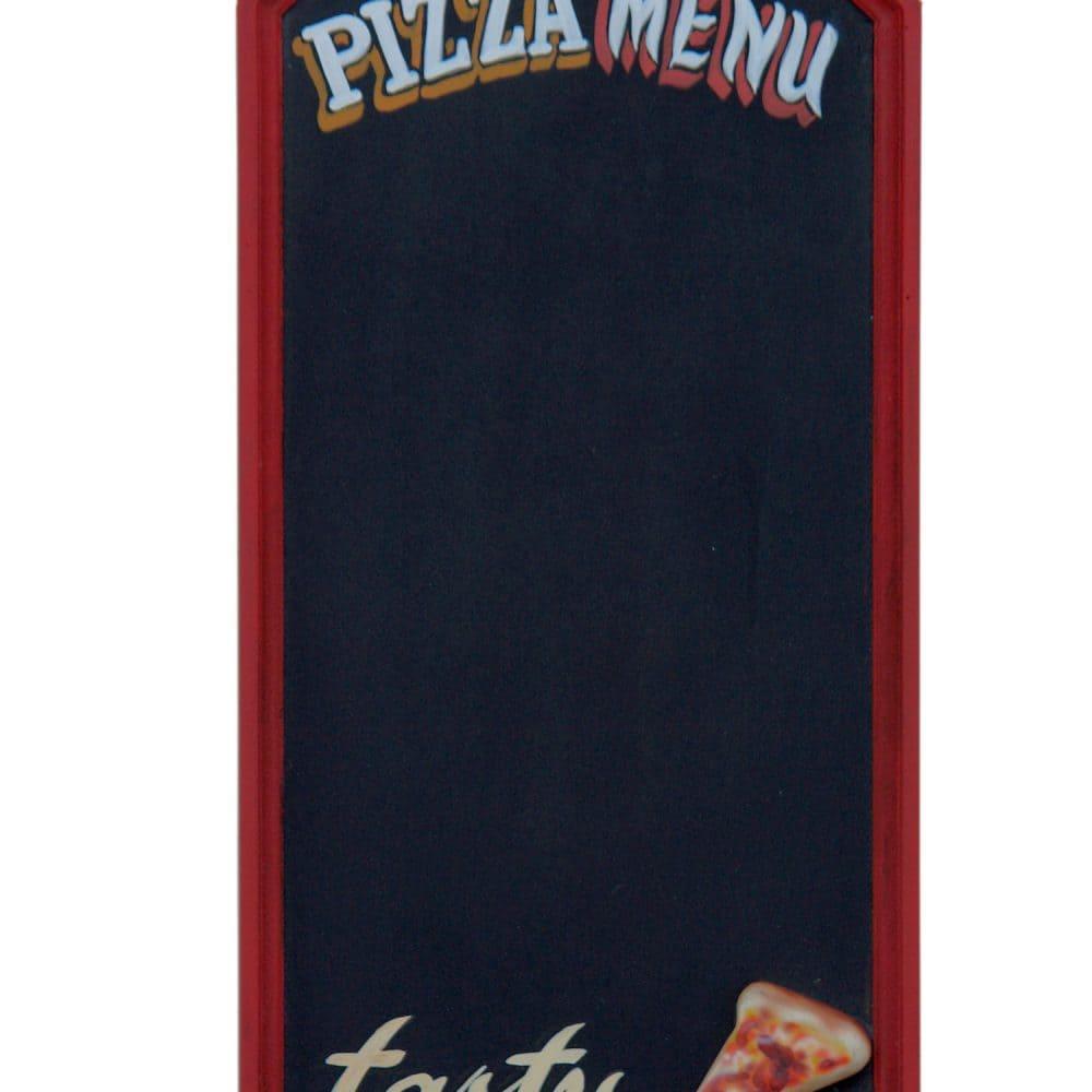 לוח גיר תפריט פיצה