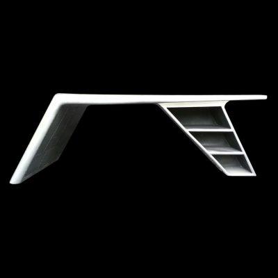 שולחן כנף לבן