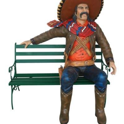 מקסיקני על ספסל