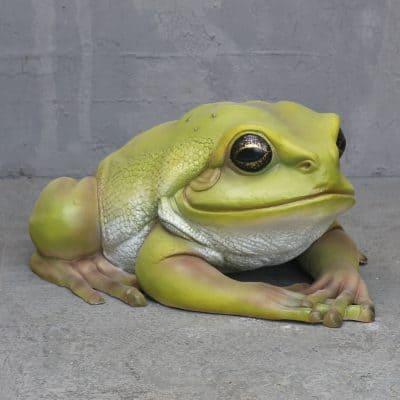 פסל של צפרדע עצים