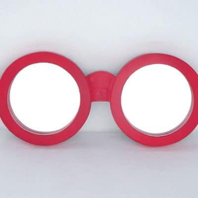 מראה בצורת משקפיים