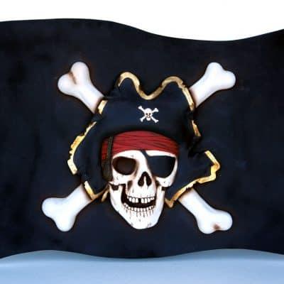 דגל של פיראטים