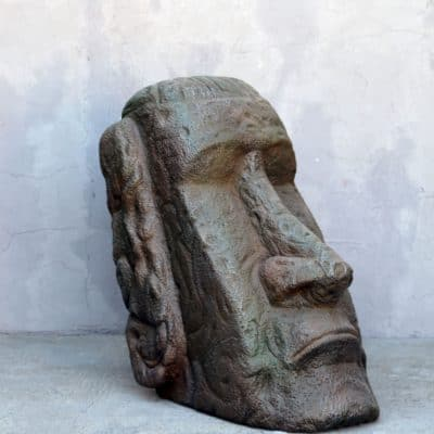 פסל ראש קטן איי הפסחא