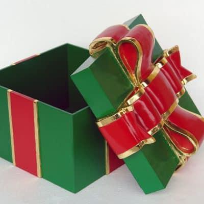 קופסת מתנה ירוקה