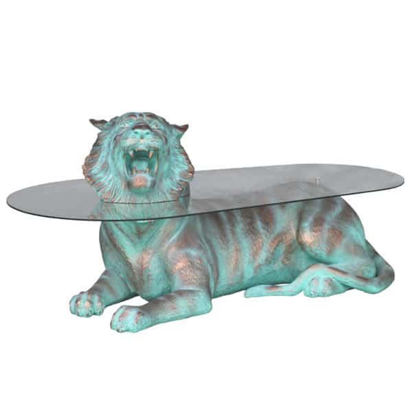 שולחן טייגר ברונזה