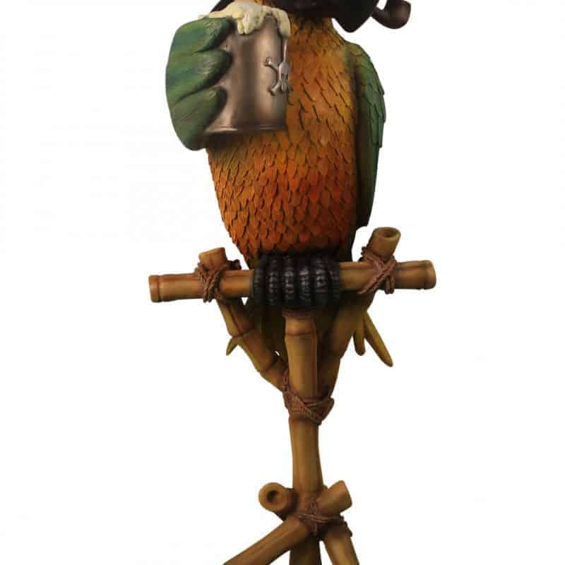 COMIC PARROT WITH PIPE WITHOUT STAND 1