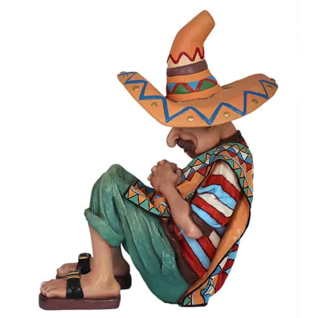 פסל של מקסיקני ישן