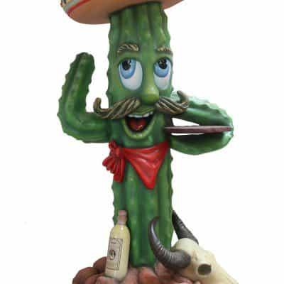 פסל של קקטוס מקסיקני