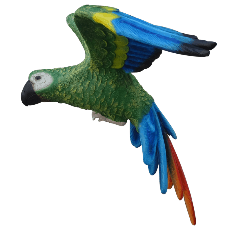 flying parrot_side