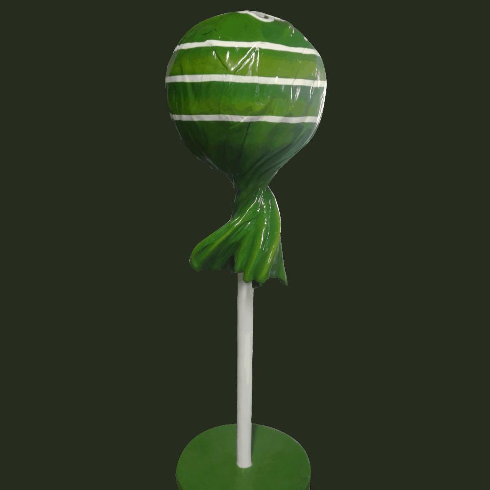 פסל של סוכריה על מקל