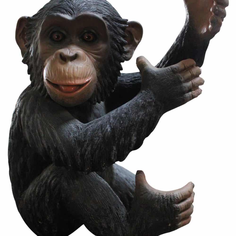 פסל קוף קונגו לתלייה